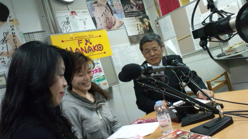 ラジオで宣伝☆